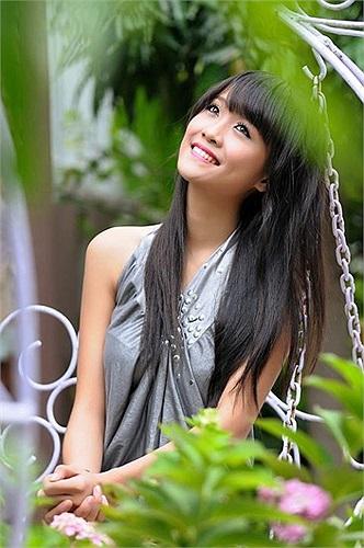 Cô bạn có nhiều cơ hội trở thành một người mẫu nổi tiếng ở Sài thành