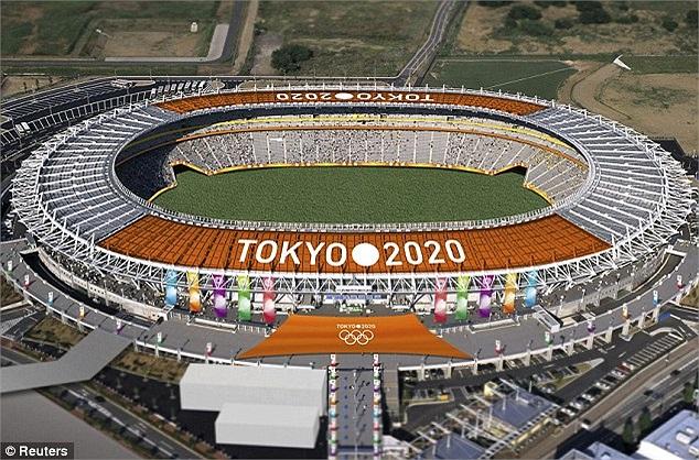 Những sân vận động hiện đại bậc nhất Nhật Bản đã và đang được xây dựng để chuẩn bị cho sự kiện trọng đại này