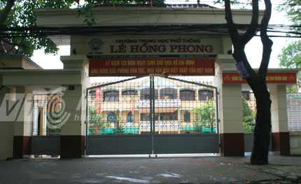 Trường THPT Lê Hồng Phong, Hải Phòng, Quyết định số 244/2005/TTg