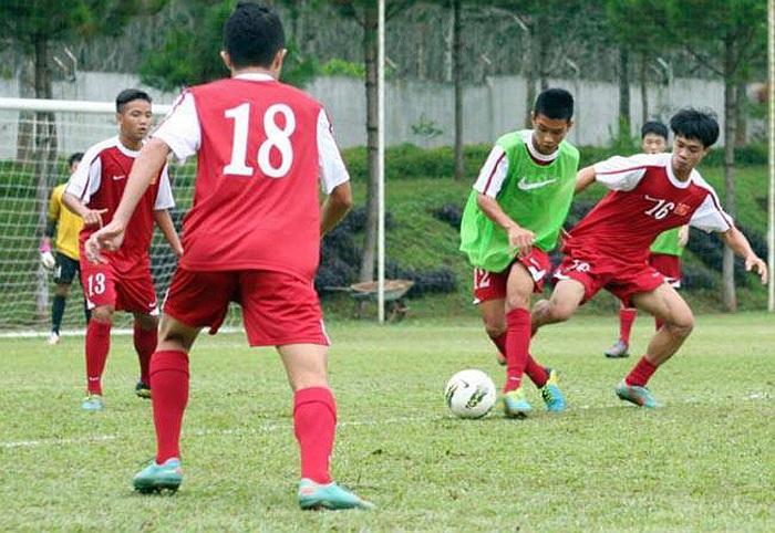 Đối thủ thầy trò HLV  Graechen Guillume sẽ là Thái Lan. Toàn đội đặt quyết tâm giành trọn 3 điểm.