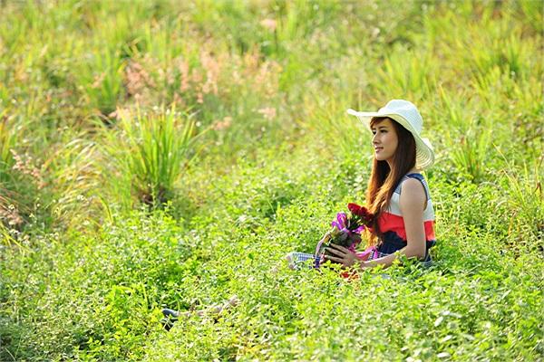 Nữ sinh xinh đẹp Nguyễn Thị Nga có nickname là Nga Tây.
