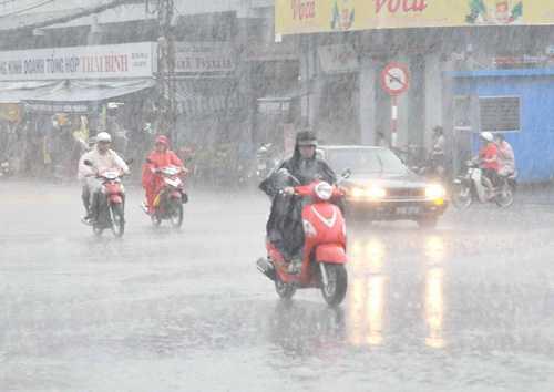 mưa lớn, miền bắc, dự báo thời tiết