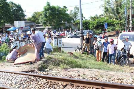 đường sắt, tai nạn, chết thảm, huế