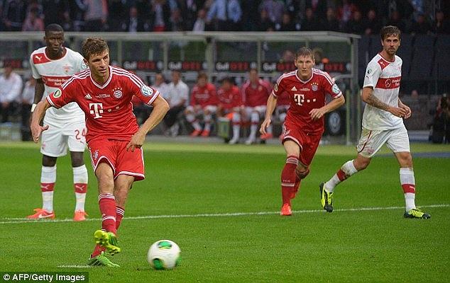 Muller đã có một trận đấu quá thành công.