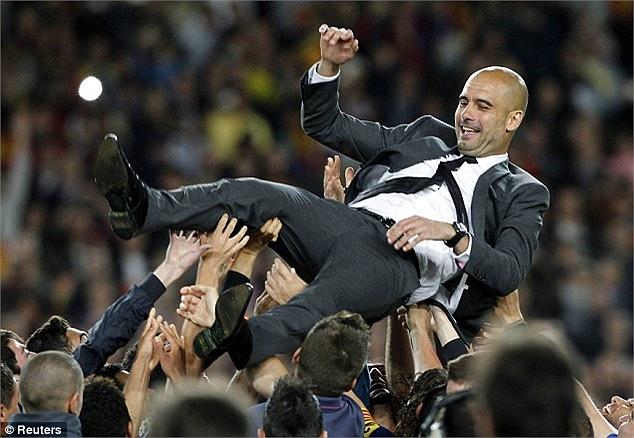 Guardiola sẽ gặp nhiều áp lực ở mùa giải tới khi dẫn dắt Bayern.