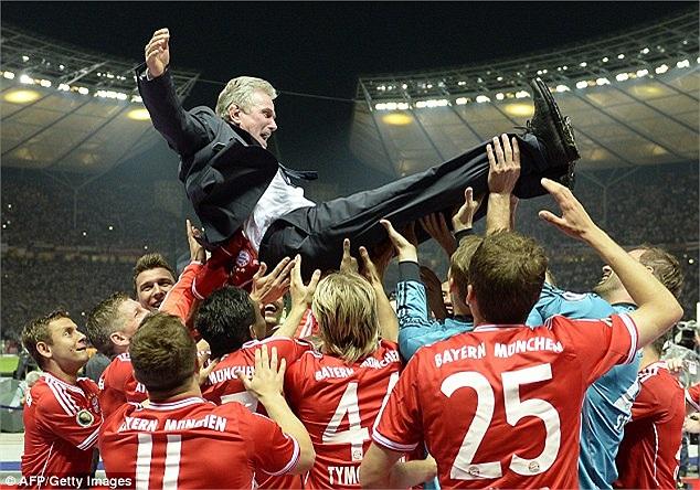 Jupp Heynckes đã có một mùa giải quá ngọt ngào.
