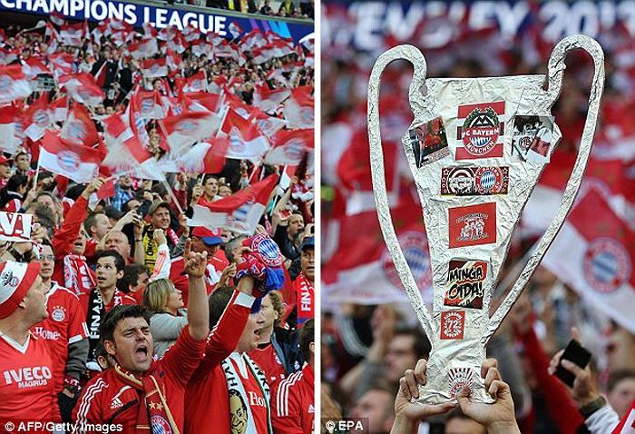 Trận chung kết Champions League của hai đại diện nước Đức: Bayern Munich...