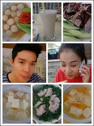 Thu Minh đi ăn cùng người em thân thiết Nathan Lee.