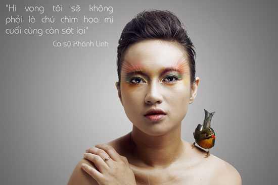Ca sĩ Khánh Linh
