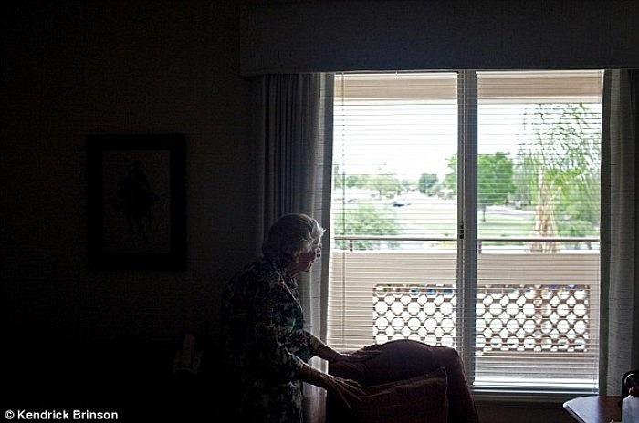 Cụ Jane Freeman, 90 tuổi, đã sống tại Sun city suốt 90 năm qua.