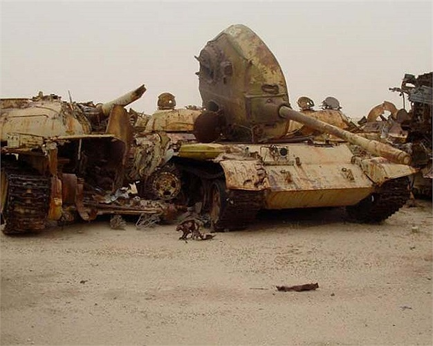 Chúng là những hình ảnh còn lưu lại của cuộc chiến tranh vùng Vịnh từng diễn ra ác liệt trên đất nước Iraq và Kuwait.