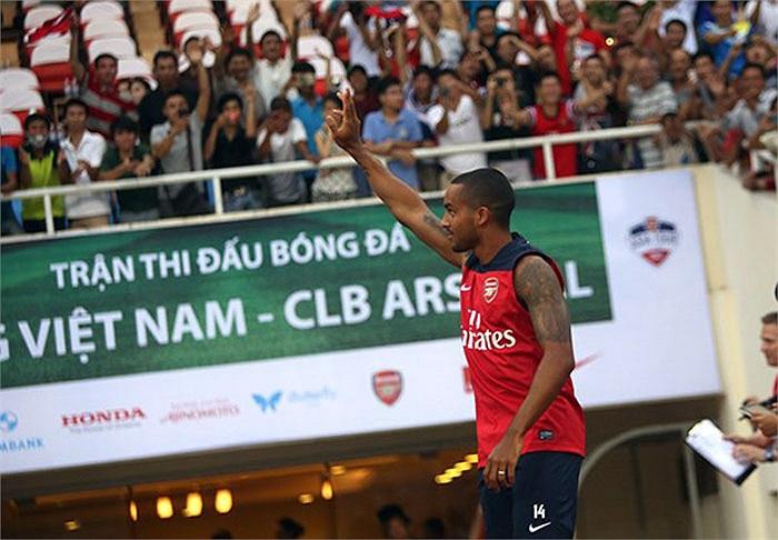 Anh là 1 trong những sao sáng nhất của Arsenal vào thời điểm hiện tại