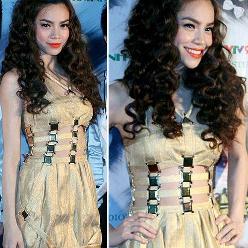 Đến nay tất cả những chiếc váy Hà Hồ mặc dính nghi án là hàng nhái đều không có công bố ai là người làm ra chúng.