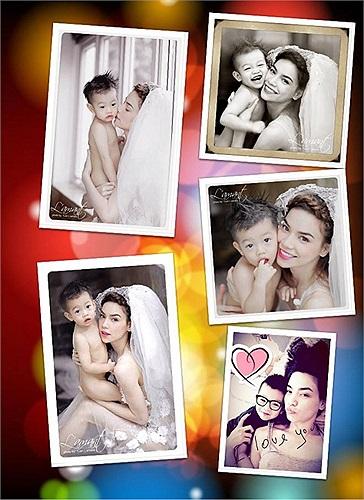 Mới đây các fan hâm mộ đã chia sẻ những bức ảnh khá hiếm hoi trên trang cá nhân của nữ hoàng giải trí: Hồ Ngọc Hà mặc váy cưới chụp ảnh cùng Su Beo.