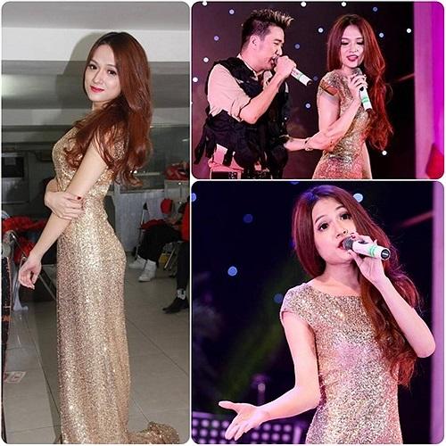 Hương Giang chuyển giới nữ tính trên sân khấu cùng Mr Đàm.