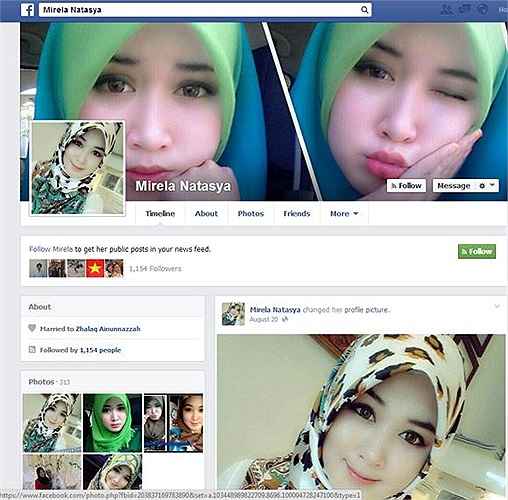 Những bức ảnh của cô khi up lên mạng xã hội đều nhận được hàng trăm nghìn like.