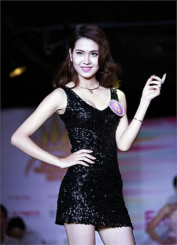 Ngày 17/8, top 60 nữ sinh xinh đẹp nhất Hà Thành đã cùng nhau thi tài ở phần thi trình diễn thời tran để chọn ra 30 thí sinh xuất sắc nhất