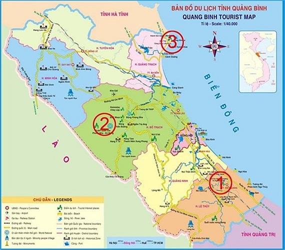 Khu vực Vũng Chùa là nơi an nghỉ ngàn thu của Đại tướng Võ Nguyên Giáp (số 3).