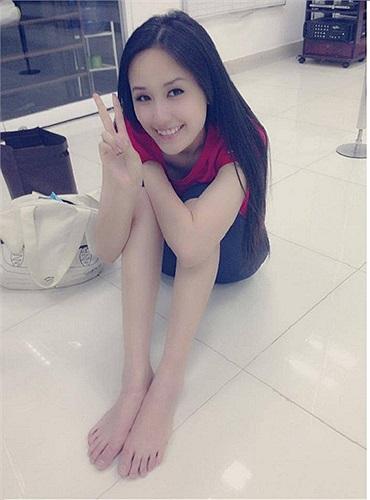 Hoa hậu Việt Nam 2006 ngày càng mi nhon và thon thả.