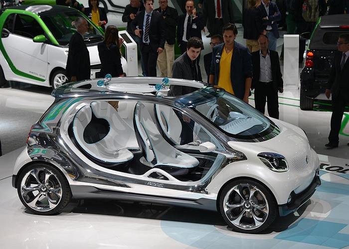 Không cửa, không mui... xe lạ ba không của Mercedes là một trong những mẫu xe thú vị nhất triển lãm Frankfurt