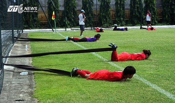 ĐT nữ Việt Nam tập trung ngày 2/8 tại Đà Lạt để rèn thể lực.