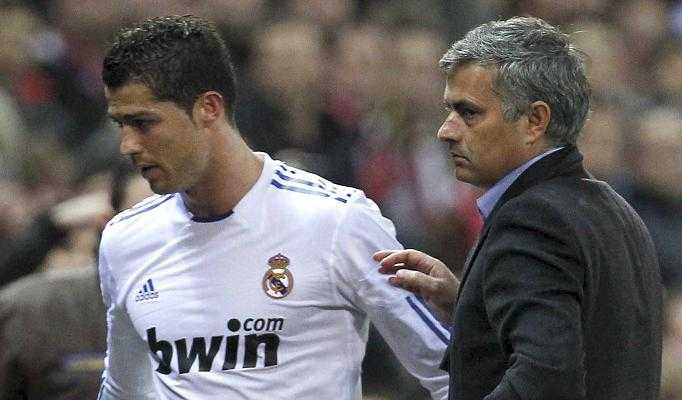 Mourinho bất đồng với Ronaldo