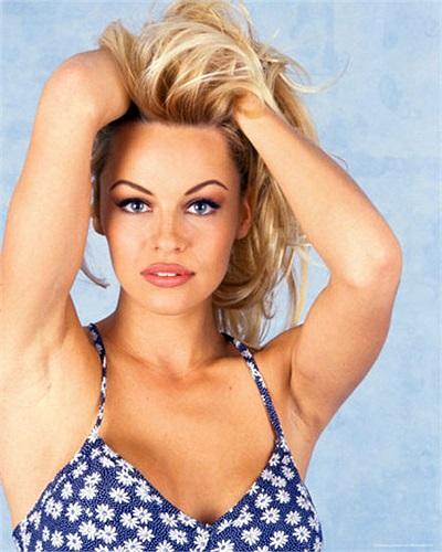 Với những đường cong mê hoặc, Pamela là nhân vật chủ chốt trong chiến dịch quảng cáo của tạp chí Playboy