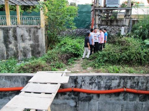 Nam thanh niên tử vong tại mương nước khi đi du lịch