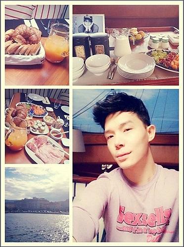 Nathan Lee đang có chuyến nghỉ dưỡng cùng vợ chồng Thu Minh tại Châu Âu.