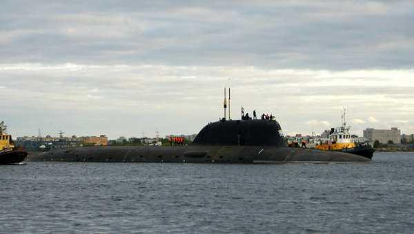 tàu ngầm hạt nhân nga