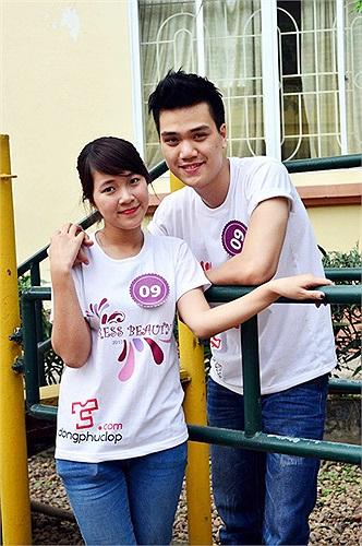 Cặp đôi của Phạm Thị Hải Yến khá chững chạc