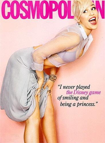 Miley Cyrus cũng tham gia chụp ảnh bìa cho rất nhiều tạp chí.