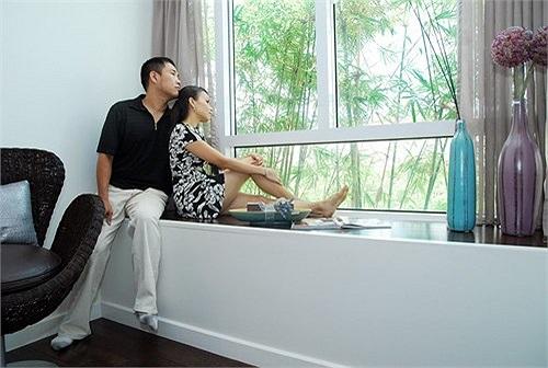 Căn hộ rộng rãi tiện nghi, được thiết kế theo dạng mở nên rất thông thoáng và có ba mặt tiếp xúc với không gian bên ngoài.