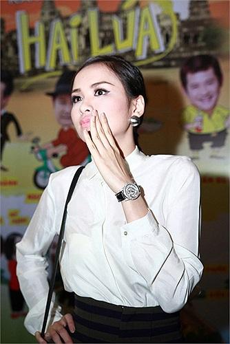 Diễm Hương chia sẻ, đây là lần đầu tiên cô đóng phim nên sẽ cố gắng hết sức để không phụ sự kỳ vọng của ê kíp.