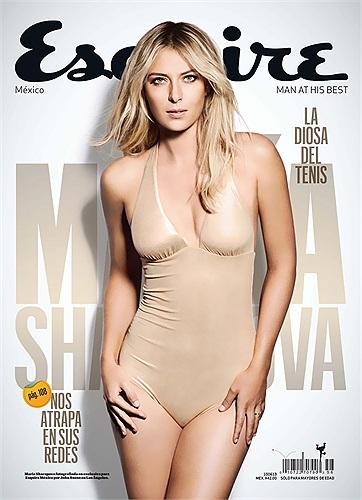 Tạp chí Esquire, phiên bản Mỹ - La tinh số ra tháng 5 đã sử dụng hình ảnh của Maria Sharapova làm ảnh bìa.