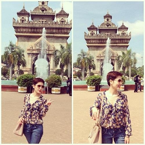 Phương Linh xinh đẹp.