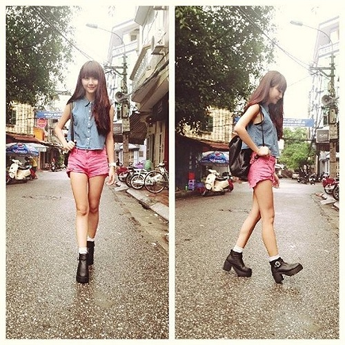 Quỳnh Anh Shyn khoe ảnh thời trang.