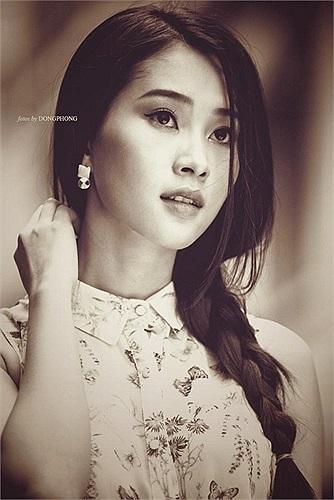 Hoa hậu Đặng Thu Thảo trong một bức ảnh đẹp.