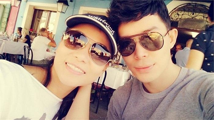 Nathan Lee và Thu Minh rất thân thiết, cả trong công việc và cuộc sống.
