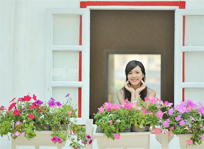 Hà Thanh Vân sinh năm 1993 hiện đang là sinh viên năm 2 chương trình tiên tiến  chuyên ngành kinh tế đối ngoại ĐH Ngoại thương. (Ảnh: Phong 2V - Hero)