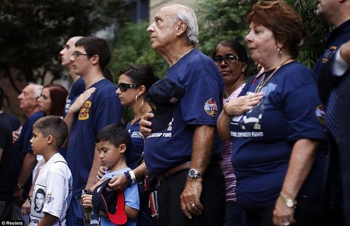 Thân nhân của những lính cứu hỏa thiệt mạng trong vụ khủng bố 11/9