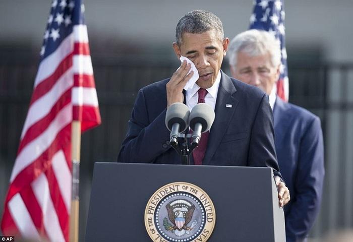 Tổng thống Obama đến dự lễ kỷ niệm vụ 11/9 tại Lầu Năm Góc