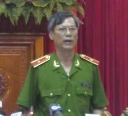 Thiếu tướng Trần Thùy – PGĐ CATP Hà Nội
