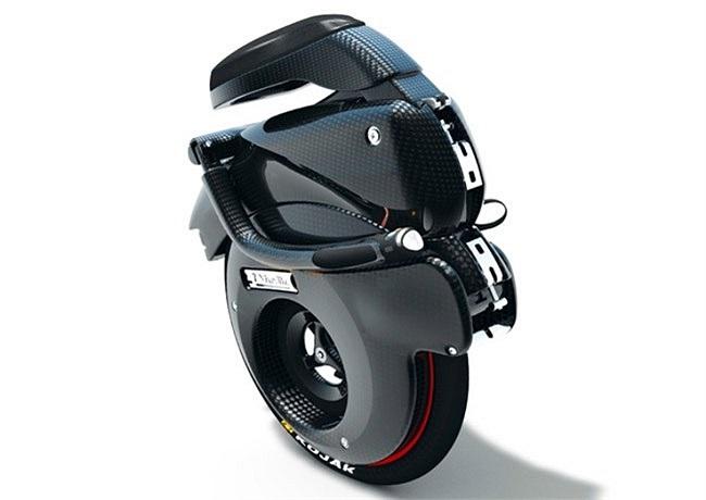 Solowheel hay Airwheel là xe đạp điện 1 bánh nhỏ nhất thế giới. Trọng lượng chỉ khoảng 9,8 kg đã gồm pin. Hai chỗ để chân làm bằng hợp kim. Phần vỏ bằng nhựa và có tay xách. Chiều cao 45 cm và rộng chưa tới 40 cm (chỗ để chân mở). Với một người có câ