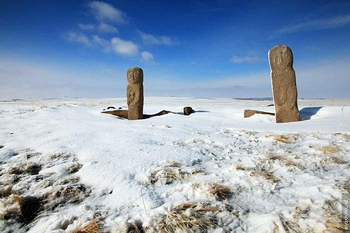 29.Một di tích khảo cổ vừa được phát hiện tại tỉnh Akmola của Kazakhstan.