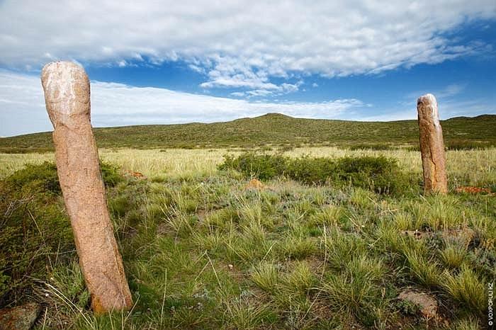 31.Những balbals tìm thậy tại khu vực Karaganda (Kazakhstan).