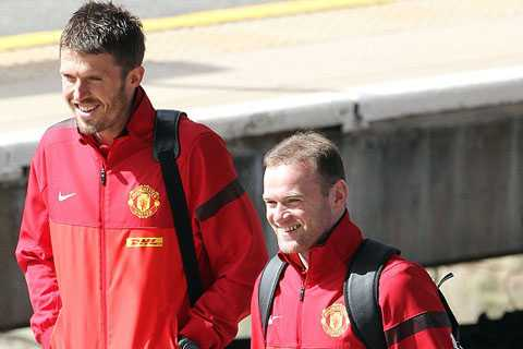 Rooney và Carrick