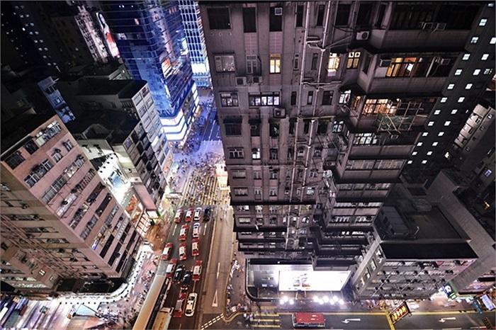 Hongkong hào hoa tráng lệ về đêm