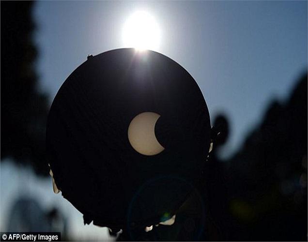 Đây là lần xảy ra nhật thực thứ hai có thể quan sát rõ từ vùng Bắc Australia trong vòng 6 tháng qua.
