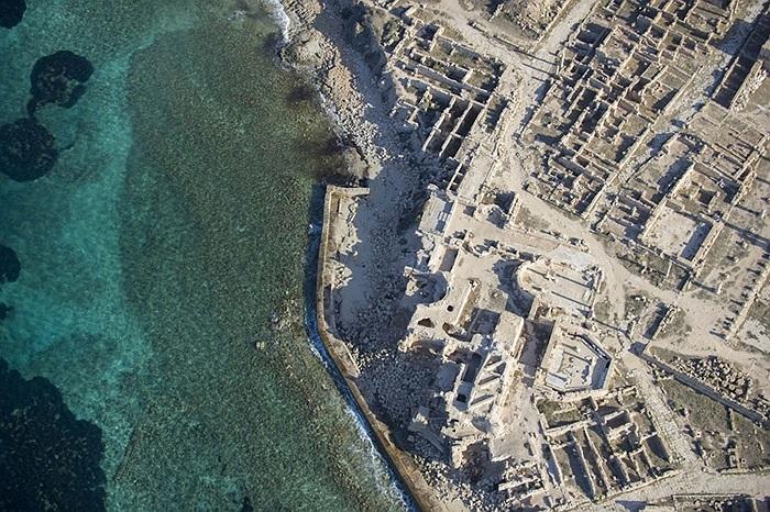 Những gì còn sót lại từ thời La Mã cổ đại ở thành phố Sabratha